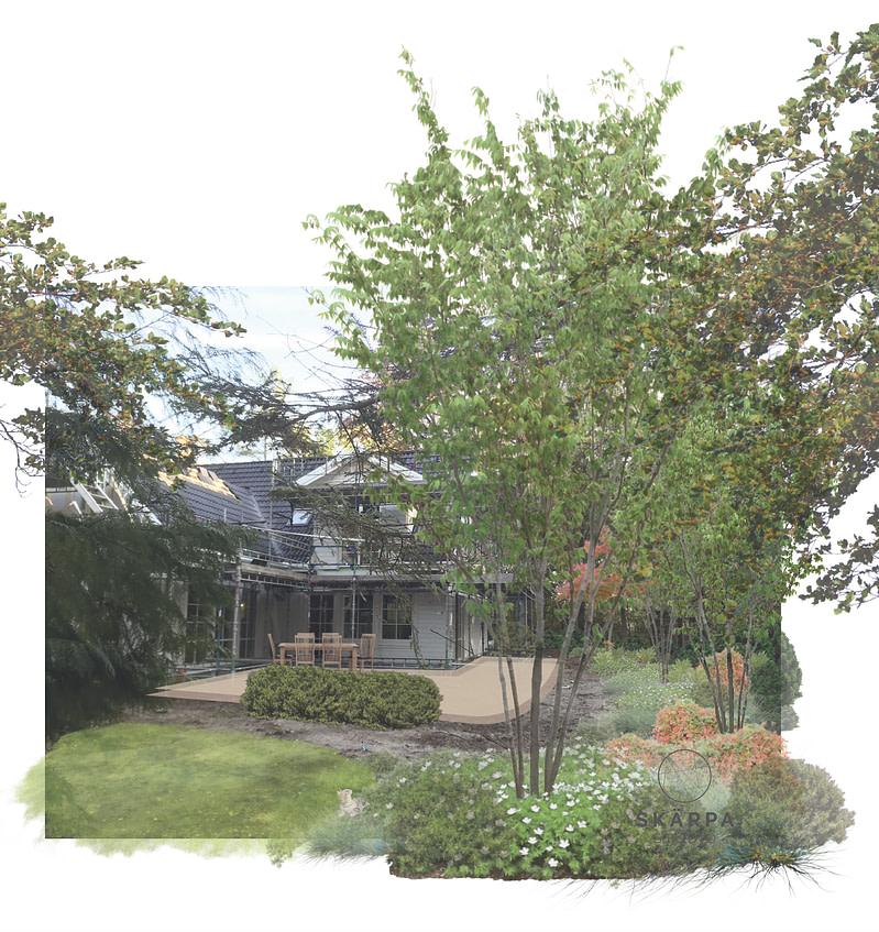 Trädgårdsdesign ståndort sandjord veberöd lund
