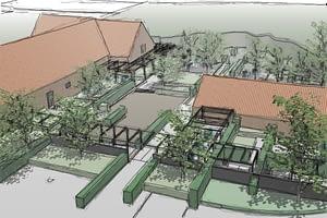 Trädgårdsdesign Slättarps gård