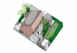 Trädgårdsdesign Lomma trädgårdsarkitekt trädgårdsarkitektur trädgård Lund Malmö Skåne