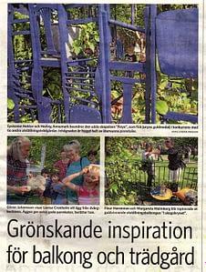 Malmö Garden Show 2013 Vallkil & Jacobsson trädgårdsarkitekter